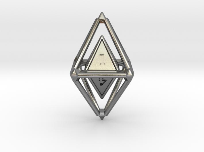 d8 Dice Pendant 3d printed