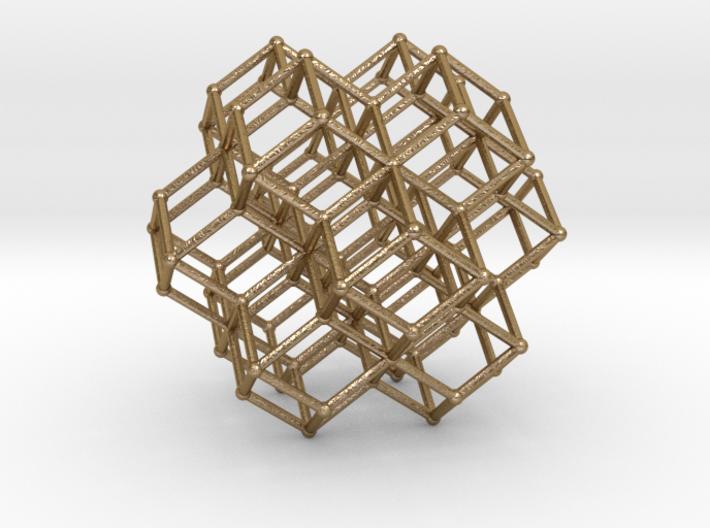 Sacred Geometry RhombicDodeca Honeycomb 50mm 3d printed