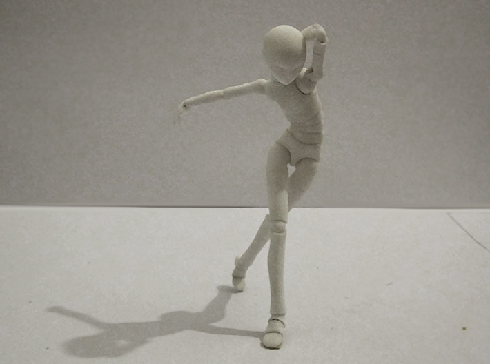 1/12 scale ALTER EGO MkXX bjd model kit 3d printed