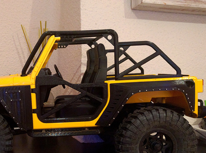 1/10 Scale Jeep Roll Cage 3d printed