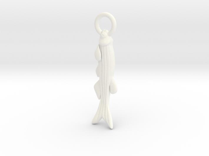 Zebrafish Ornament - Science Gift 3d printed