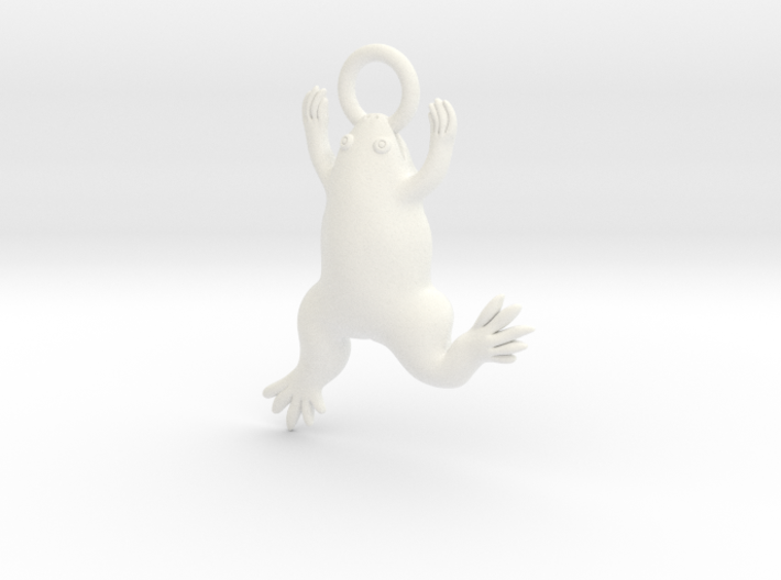 Xenopus Ornament - Science Gift 3d printed