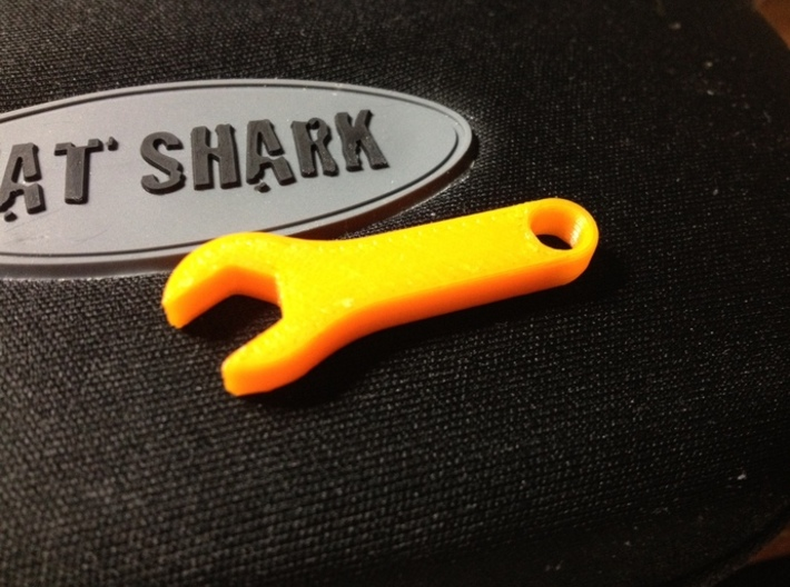 SMA Spanner 3d printed