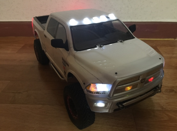 Scx10 Ram Top Light 3d printed