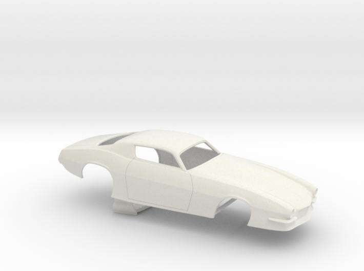 1/25 Pro Mod 73 Camaro Flat Hood 3d printed