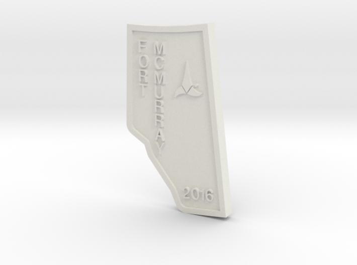 IKF - FORT MAC 3d printed