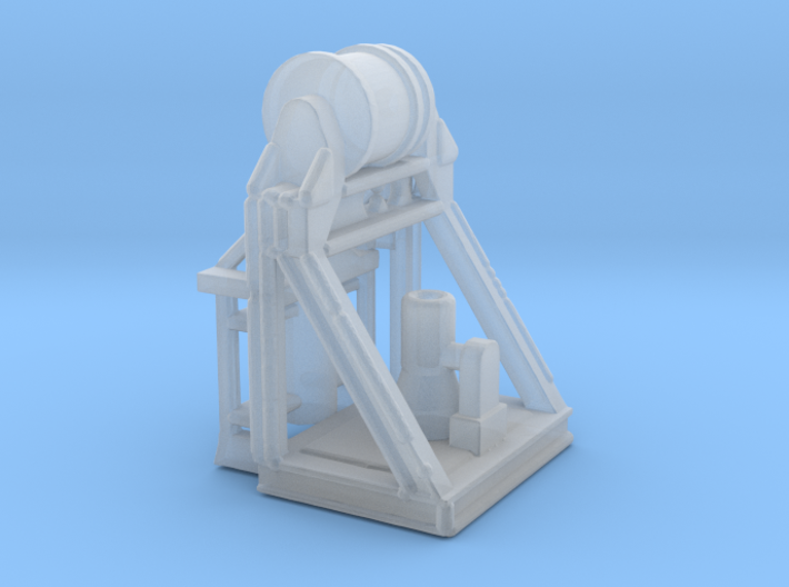 Variable Depth Sonar 1/144 Scale 3d printed