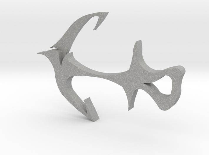 Anchor-tattoo 3d printed