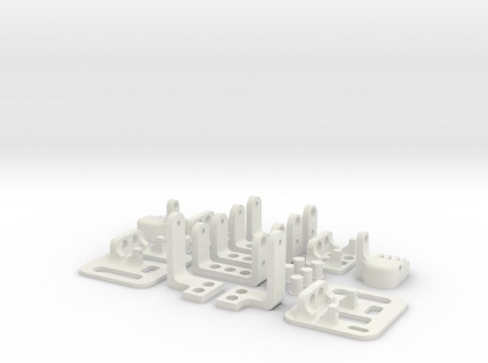 miniFloppyBot Leg Kit 3d printed