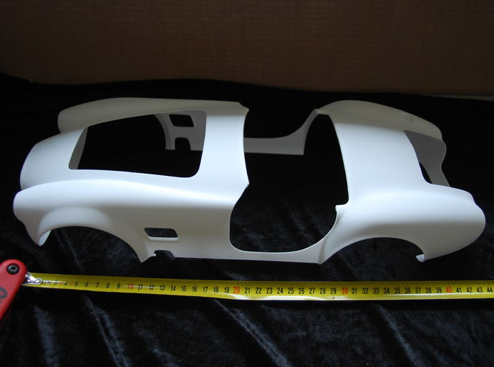 AC Cobra 427 body 3d printed Open version