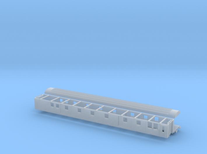 Packwagen SBB Dms Komplett Scale TT 1/120 1-120 1: 3d printed