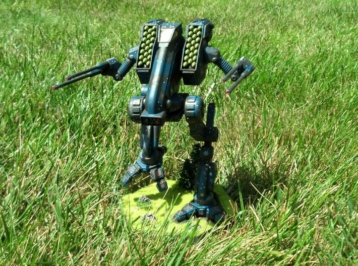 Vulture / Mad Dog Battlemech 1/72 3d printed FUD Model painted and customized by dragnse7en