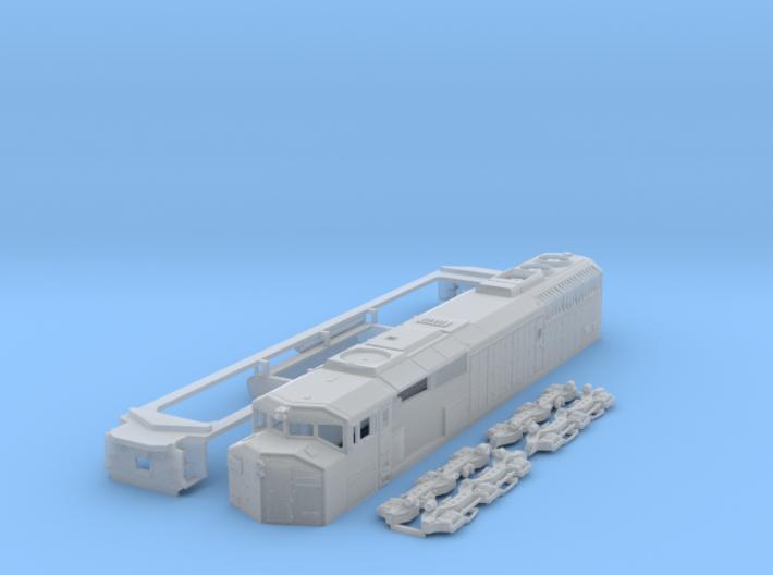 SD60f N Scale 3d printed