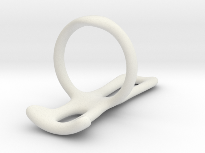 Trigger Ring splint (Smooth) Us size 12 3d printed