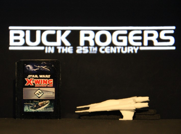 Thunder Fighter (Buck Rogers), 1/270 3d printed