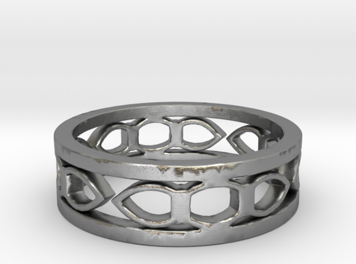 Medieval ring Ring Size 6 3/4 3d printed