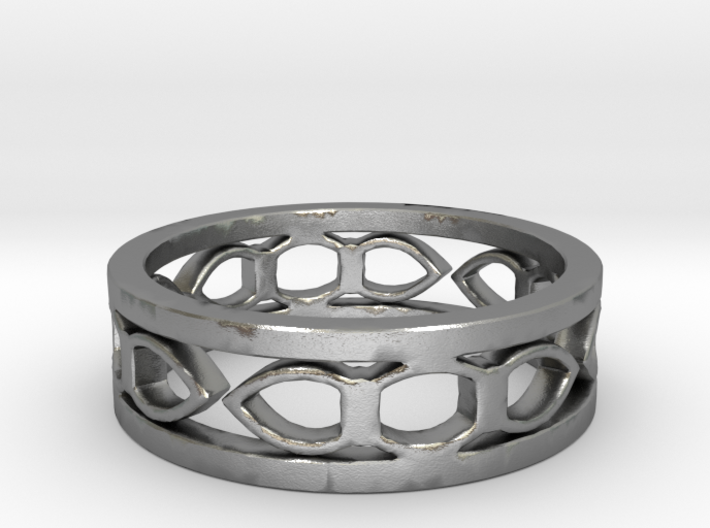 Medieval ring Ring Size 6 1/2 3d printed