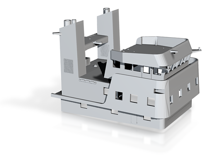 ATF-172 Tug, Superstructure (1:200, RC) 3d printed