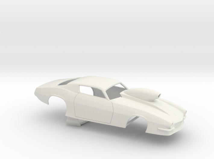1/24 Pro Mod Camaro Cowl Hood W Scoop 3d printed