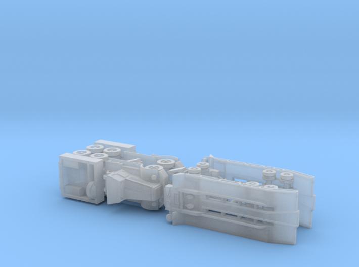 M19 Tank Transporter w. Hard- & Soft-Top 1/285 3d printed