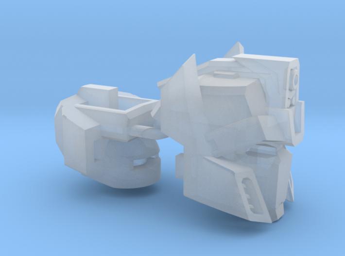 "Houdini Head ""MTMTE"" Combiner Version 3d printed"