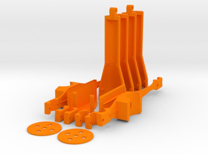 CONTEST 2016 - DJI Phantom 4 - rescue addon 3d printed Model to print