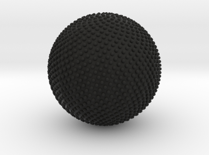 N Equidistant Points on a Sphere 3d printed