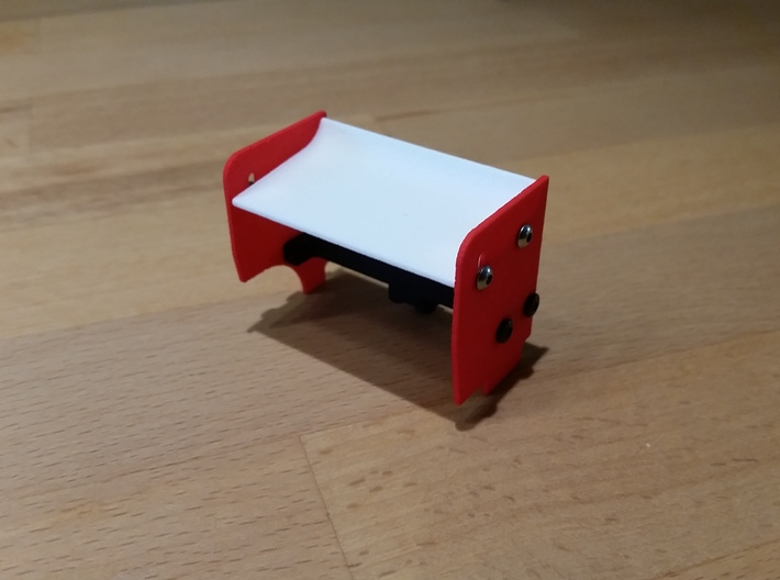 Sideplate Right 1mm 3d printed