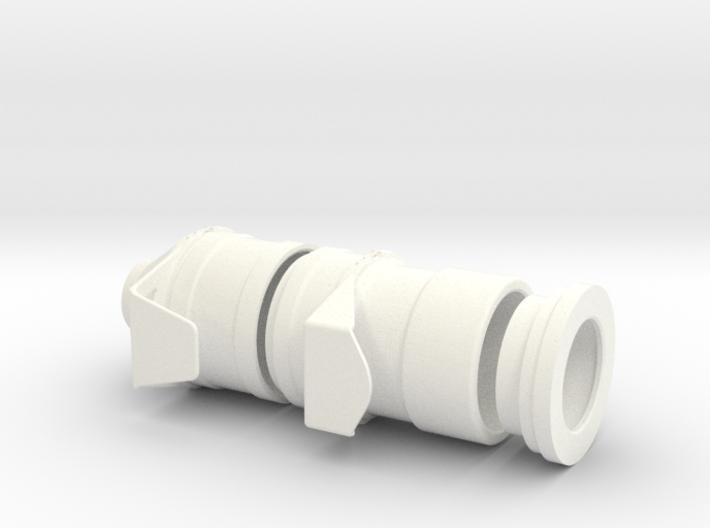 1.5 TURBINE AIR ENTRY LAMA SA315B 3d printed