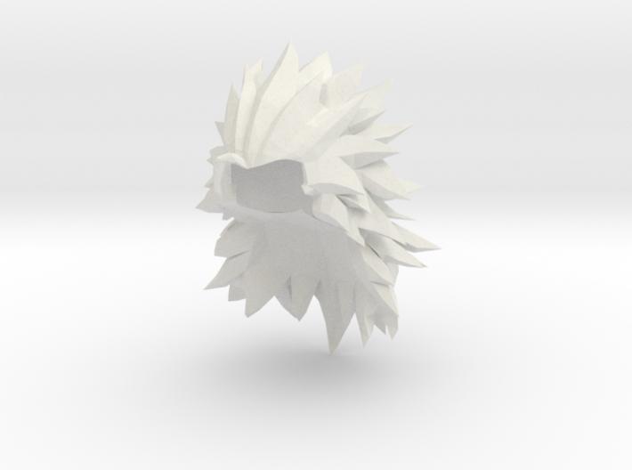 Custom Goku SSj3 (XV) Inspired Lego 3d printed