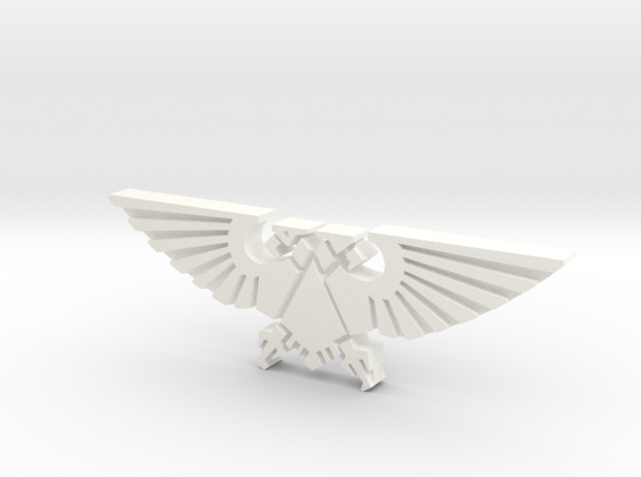 Double-headed Eagle token 3d printed