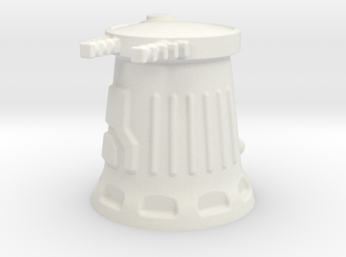 6mm Scale Sci-Fi Weapon Turret 3d printed