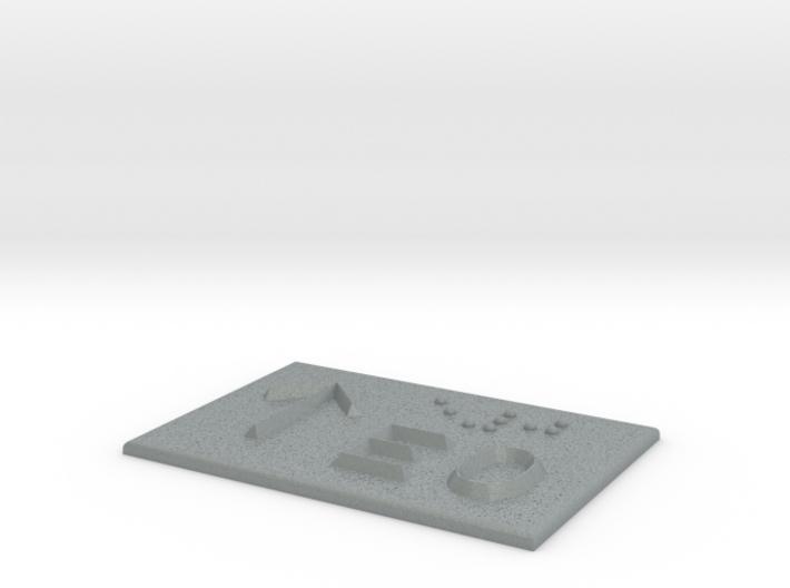 E0 mit Pfeil nach oben 3d printed