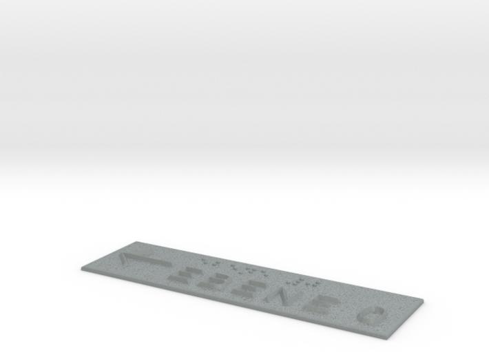EBENE 0 mit Pfeil nach links 3d printed