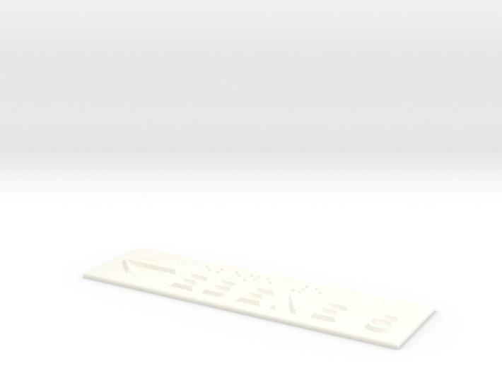 EBENE 5 mit Pfeil nach links 3d printed
