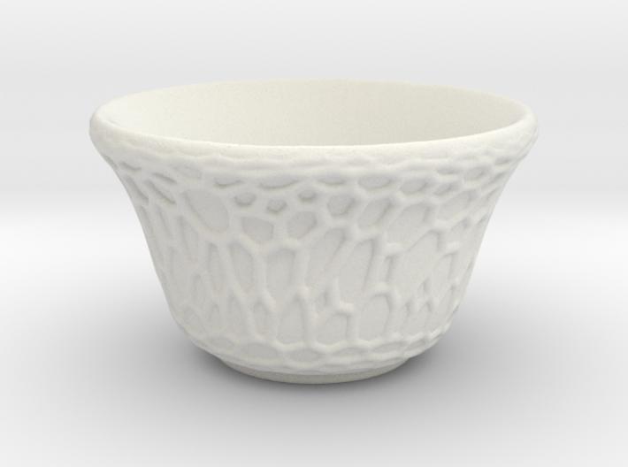 DRAW tea bowl - grandiose cellulose 3d printed