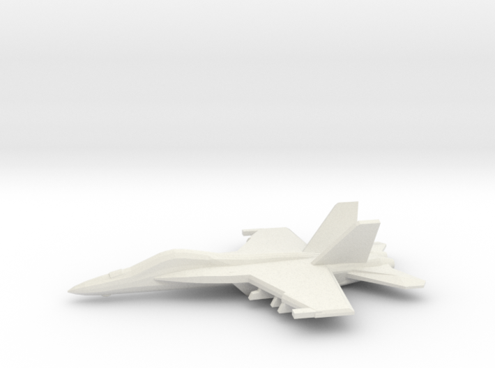 1/350 F/A-18E Super Hornet 3d printed