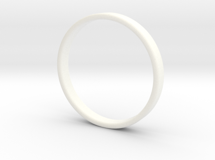 Ring For Ed - Size 11,5 - 3mm Wide - 1,2mm Thick 3d printed