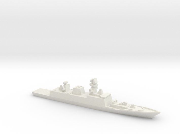 Shivalik-class frigate, 1/1800 3d printed
