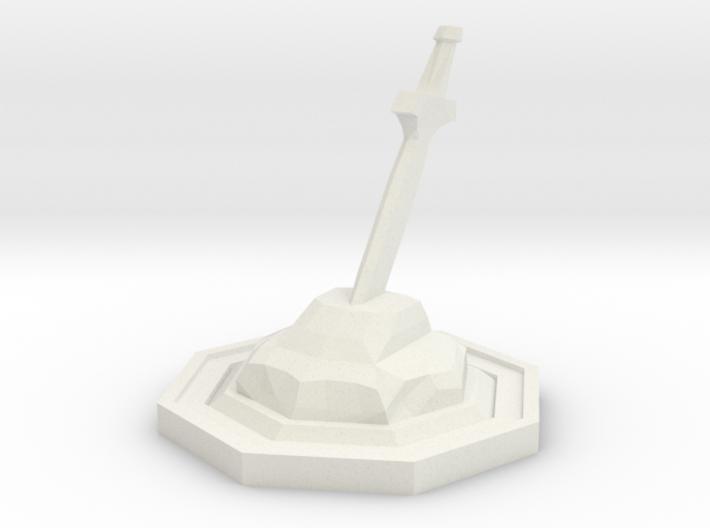 Sword Stone 3d printed