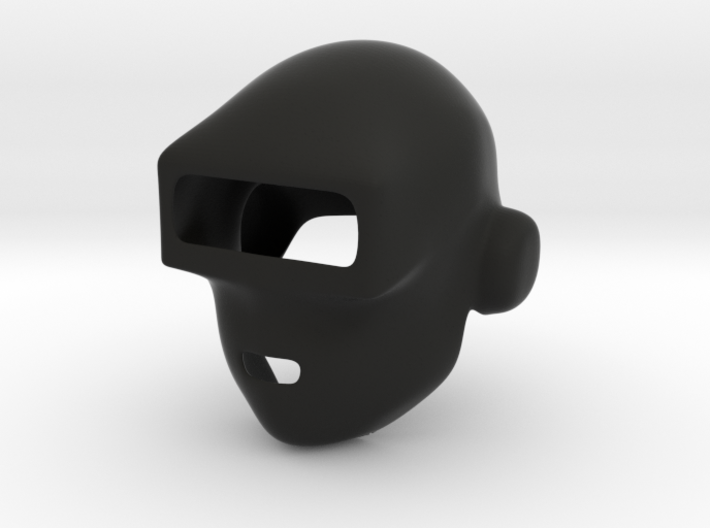 Daft Punk Mask (Smooth) 3d printed Do it Faster, Makes us Stronger