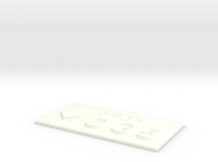 OG 5 mit Pfeil nach unten 3d printed