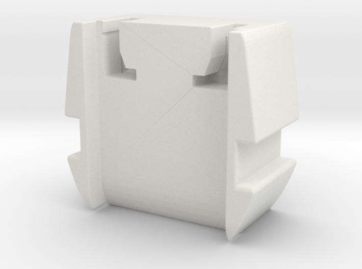 GHK PDW Hybrid Recoil Pad Bottom 3d printed