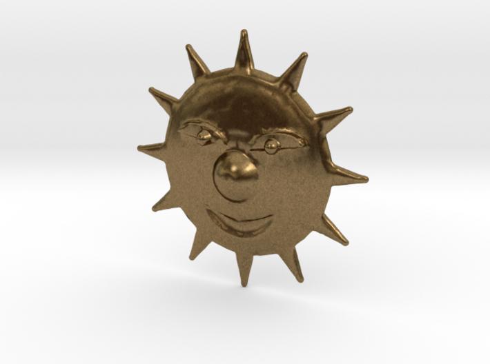 Mischevious Sun 3d printed