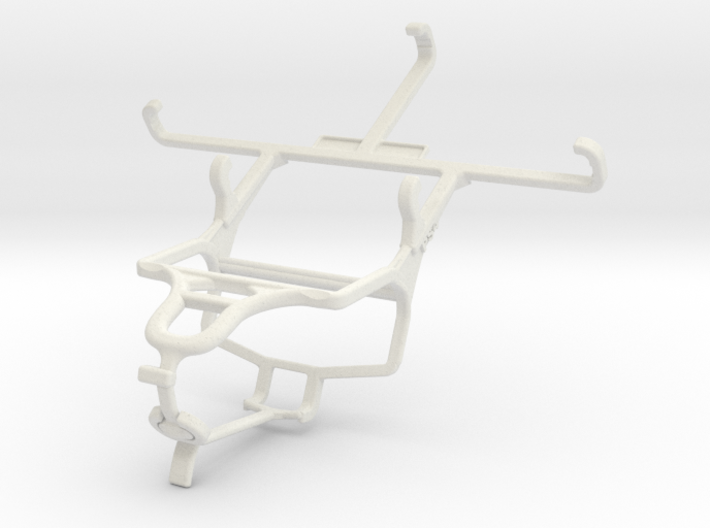 Controller mount for PS4 & Spice Mi-498 Dream Uno 3d printed