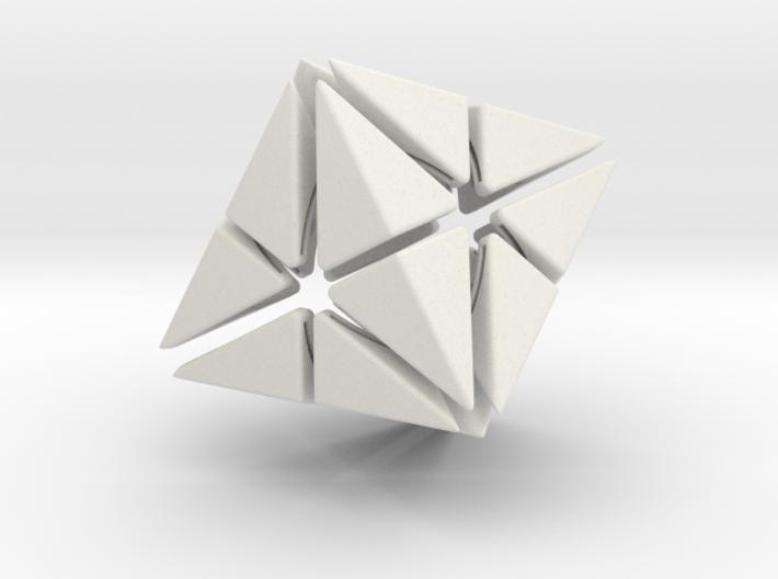 Octa Star (aka 24-Octahedron) 3d printed