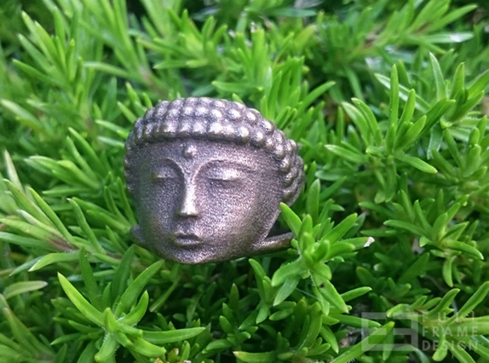 Buddha Ring (Multiple Sizes) 3d printed