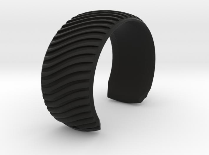 Braid Pattern 2 Cuff Medium A 3d printed