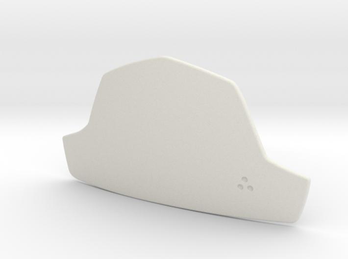 Boba Fett Abdominal Plate 3d printed