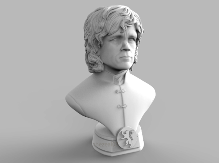 Tyrion Mini Bust 3d printed 3D render